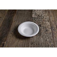 Assiette ronde blanc Ø 18 cm 400 ml (50 pièces)
