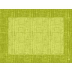 Set kiwi non tissé 40x30 cm Linnea Duni (100 pièces)