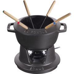 Service à fondue fonte d'acier 1,65 l Staub