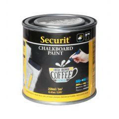 Peinture ardoise rectangulaire noire 7,6x7,6 cm Securit