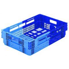 Caisse rectangulaire bleue 26 l Gilac