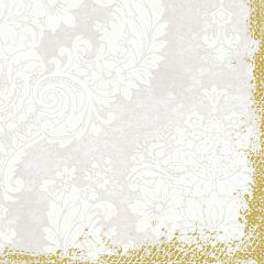 Serviettes blanche ouate de cellulose 40x40 cm Duni (250 pièces)