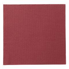 Serviette bordeaux ouate de cellulose 38x38 cm Lisah Pro.mundi (50 pièces)