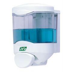 Distributeur de savon blanc 11 cm Jvd
