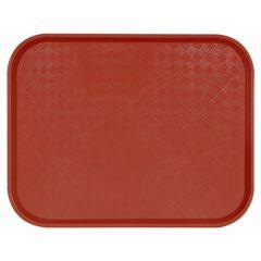 Plateau cuivre polyester bord droit Acer Pp Platex