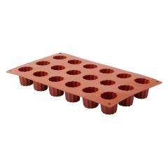 Moule mini-cannelés bordelais silicone gn 1/3 3 cl Pro.cooker By Andy Mannhart