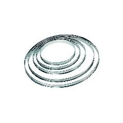 Cercle à tarte rond Ø 18 cm
