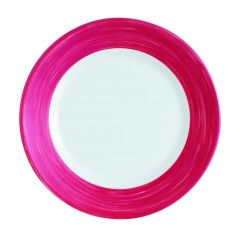 Assiette plate ronde cherry Ø 15,50 cm Brush Arcoroc