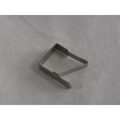 Pince nappes grise (4 pièces)