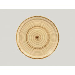 Assiette plate rond beach porcelaine Ø 27 cm Twirl Rak
