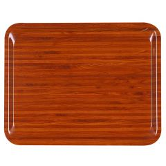 Plateau marron bois compresse bord profilé Suprex Platex