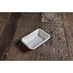 Barquette blanche 12x17 cm (50 pièces)