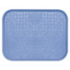 Plateau bleu polyester bord droit Acer Pp Platex