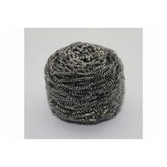 Boule de récurrage inox ronde grise (10 pièces)