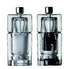 Moulin transparent 9 cm Zieher (2 pièces)
