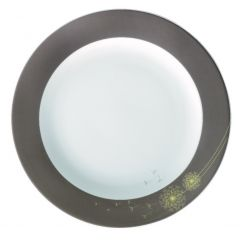 Assiette plate ronde blanc porcelaine Ø 24 cm Intemporel Pro.mundi