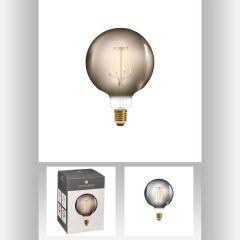 Ampoule led fume g125 4w ronde Ø 10,50 cm