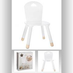Chaise douceur blanc blanche 32x32 cm