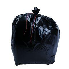 Sac à déchets noir 170 l 49 µm (100 pièces)
