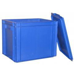 Bac spécial assiettes rectangulaire bleu 27 l Gilac