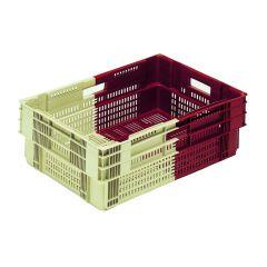 Caisse rectangulaire bordeaux 35 l Gilac