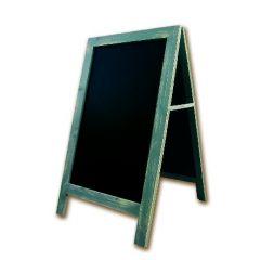 Chevalet de trottoir rectangulaire gris 67,50x80 cm Bequet