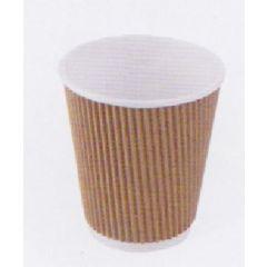 Gobelet blanc carton 12 cl Hot Cup Huhtamaki (25 pièces)