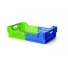 Caisse rectangulaire bleue 27 l Gilac