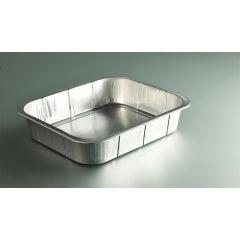 Plat gn 1/2 rectangulaire gris 26,50x32,50 cm 425 cl (172 pièces)