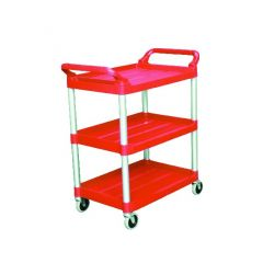 Chariot rouge 47,30x85,40 cm Rubbermaid