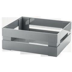 Caisse gris plastique 305 mm Tidy Et Store Guzzini