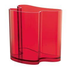 Porte journaux rectangulaire rouge 22,8x32 cm Guzzini