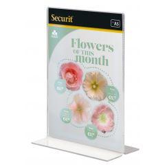 Porte-accessoires rectangulaire transparent 14,80 cm Acrylic Securit