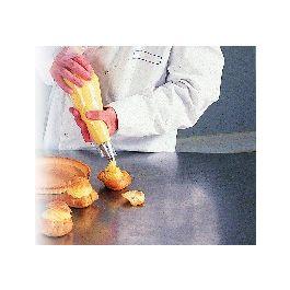 Poche pâtissière en boîte distributrice plastique polyéthylène basse densité (pebd) 30x54 cm (200 pièces)