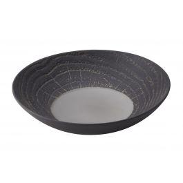 Assiette coupe creuse ronde poivre porcelaine Ø 24,20 cm Arborescence Revol