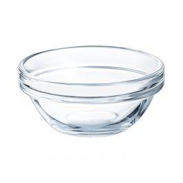 Coupelle ronde transparente verre Ø 5,85 cm Empilable Arcoroc