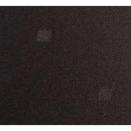 Nappe carrée chocolat polyester 85x85 cm Symetry Denantes