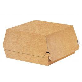 Boîte burger carrée beige 14x14 cm Solia (50 pièces)