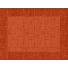 Set de table mandarine non tissé 40x30 cm Linnea Duni (100 pièces)