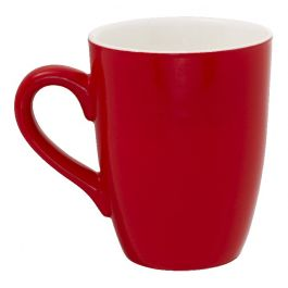 Mug rond rouge porcelaine 32 cl Ø 8,30 cm Emotions Pro.mundi