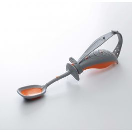 Cuillère gris plastique polypropylène (pp) Flex Ergo Saint Romain