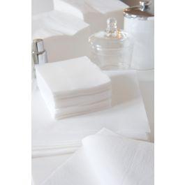 Serviette blanc ouate de cellulose 20x20 cm Celi Ouate Cgmp (50 pièces)