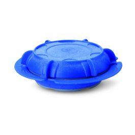Assiette creuse ronde bleue plastique Ø 23 cm Thermodynamique Saint Romain