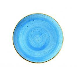 Assiette coupe plate ronde cornflower porcelaine Ø 28,80 cm Stonecast Churchill