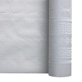 Rouleau de nappe blanc papier 100x1 m