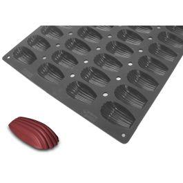 Plaque 44 madeleines silicone pâtissier 3 cl Moulflex Pro De Buyer