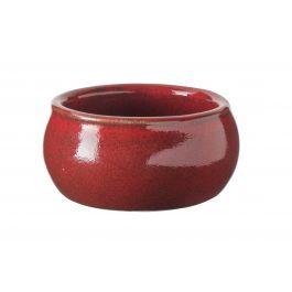 Beurrier rond rouge grès Ø 7 cm Gres Couleur Pro.mundi