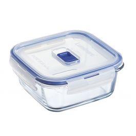 Boîte avec couvercle carrée transparente verre 76 cl 15,90 cm Pure Box Active Luminarc