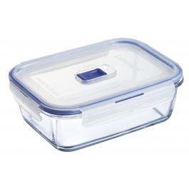 Boîte avec couvercle rectangulaire transparente verre 122 cl 20,55 cm Pure Box Active Luminarc