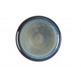 Assiette plate ronde bleue grès Ø 27 cm Gres Couleur Pro.mundi